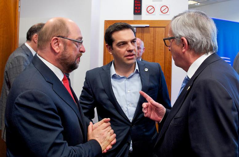 Tsipras steekt de Rubicon over
