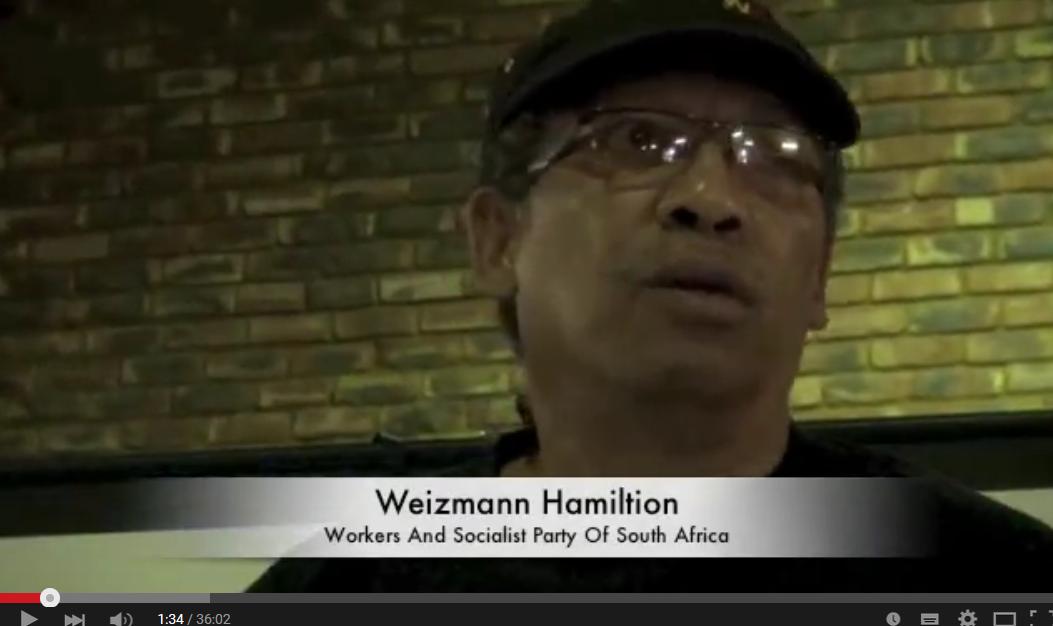 [Video] Arbeidersbeweging, racisme en klassenstrijd in Zuid-Afrika