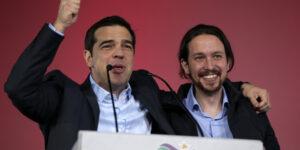 Tsipras en Iglesias