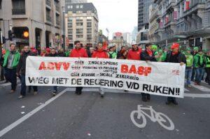 Betoging van 6 november 2014. Foto: Jean-Marie Versyp