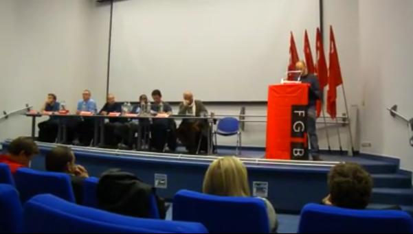 ABVV Charleroi hield dag over hoe sociale verworvenheden afdwingen