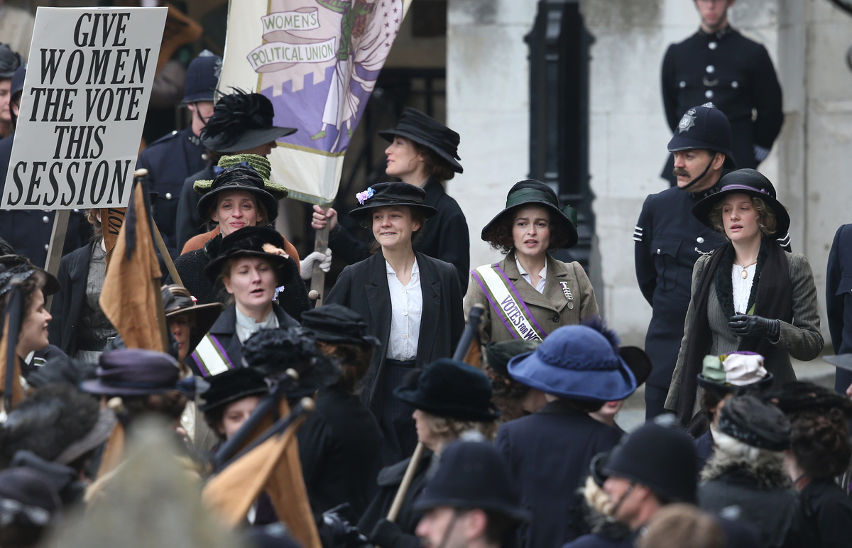 Film 'Suffragette' toont deeltje van strijd van werkende vrouwen voor stemrecht