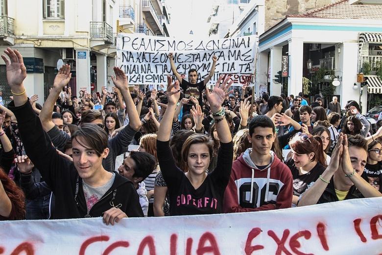 Griekenland: Syriza mobiliseert naar algemene staking… tegen Syriza!
