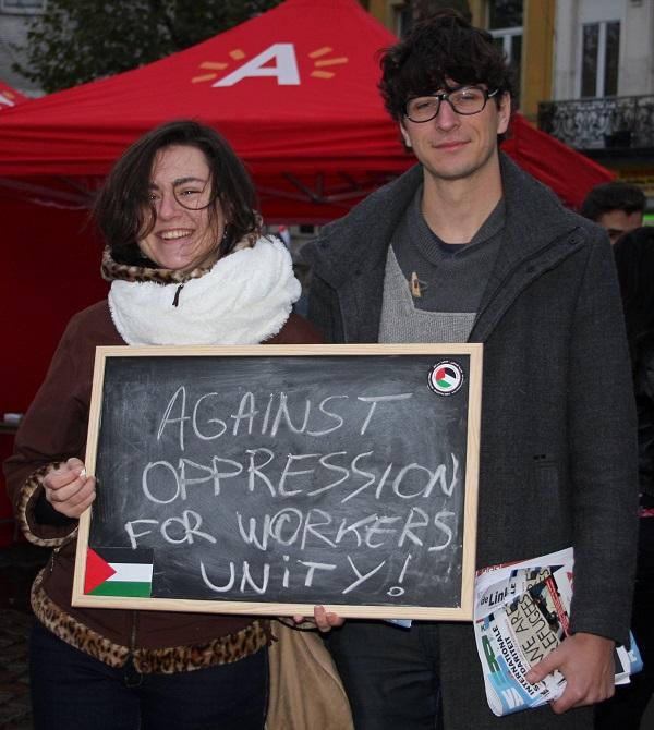 """""""Antwerp for Palestine"""" voert actie tegen onderdrukking Palestijnen"""