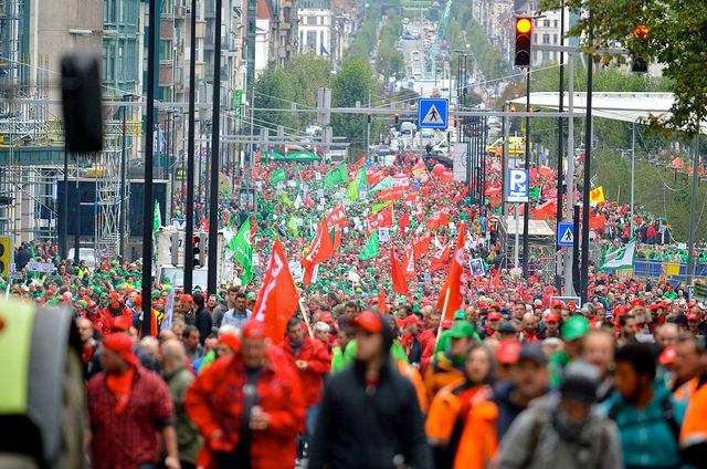 Vakbonden: nood aan een offensief programma en strijdplan