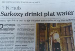 Gazet van Antwerpen vandaag...