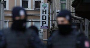De linkse partij HDP wordt vervolgd in Turkije.