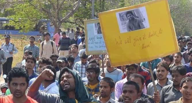 India: protest na dood van kasteloze doctoraatstudent
