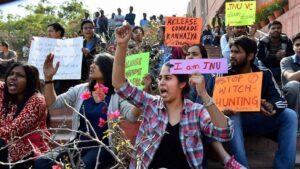 Studentenprotest in India