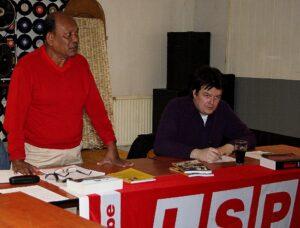 Siritunga sprak deze week op een meeting in Antwerpen.