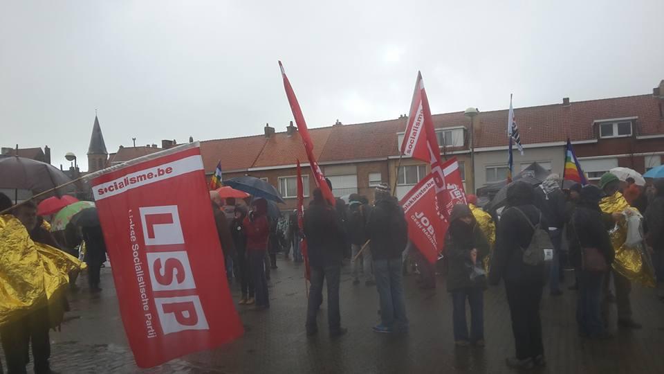 Geslaagde solidariteitsactie in Zeebrugge