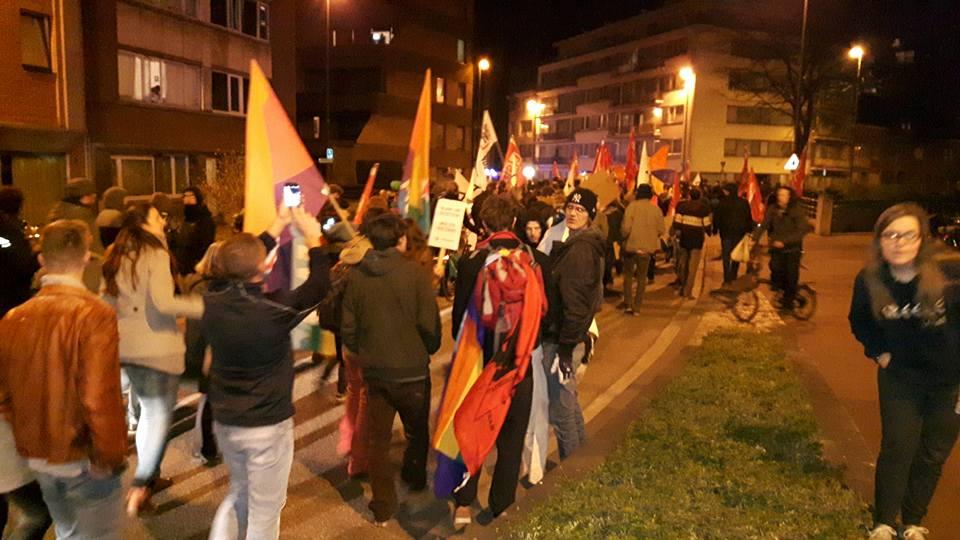Solidariteitsmars in Leuven overtroeft extreemrechtse haat