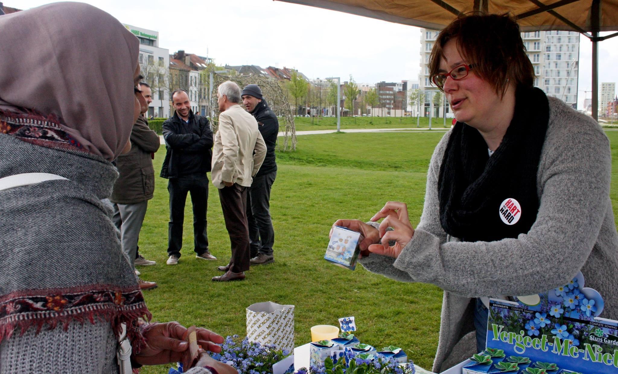 Extreemrechts houdt kleinere haatmars in Antwerpen, tegenactie Hart boven Hard