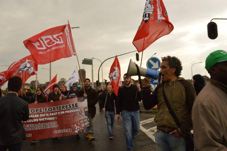 Betoging tegen gesloten centrum van Vottem: stop het asociale asielbeleid