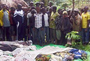 Bloedbad in het oosten van Congo