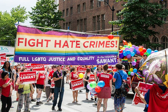 Foto: Trans Pride in Seattle in juni 2015.