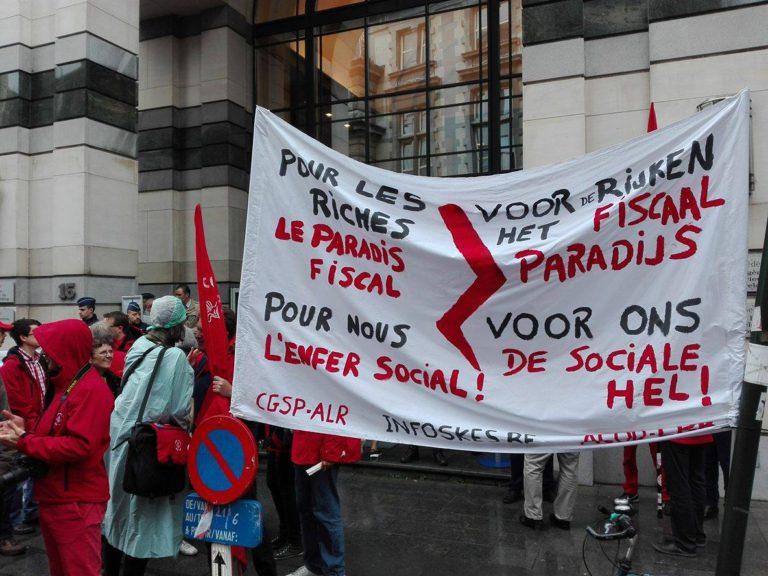 Brussel: vakbondsactie tegen pensioenhervorming