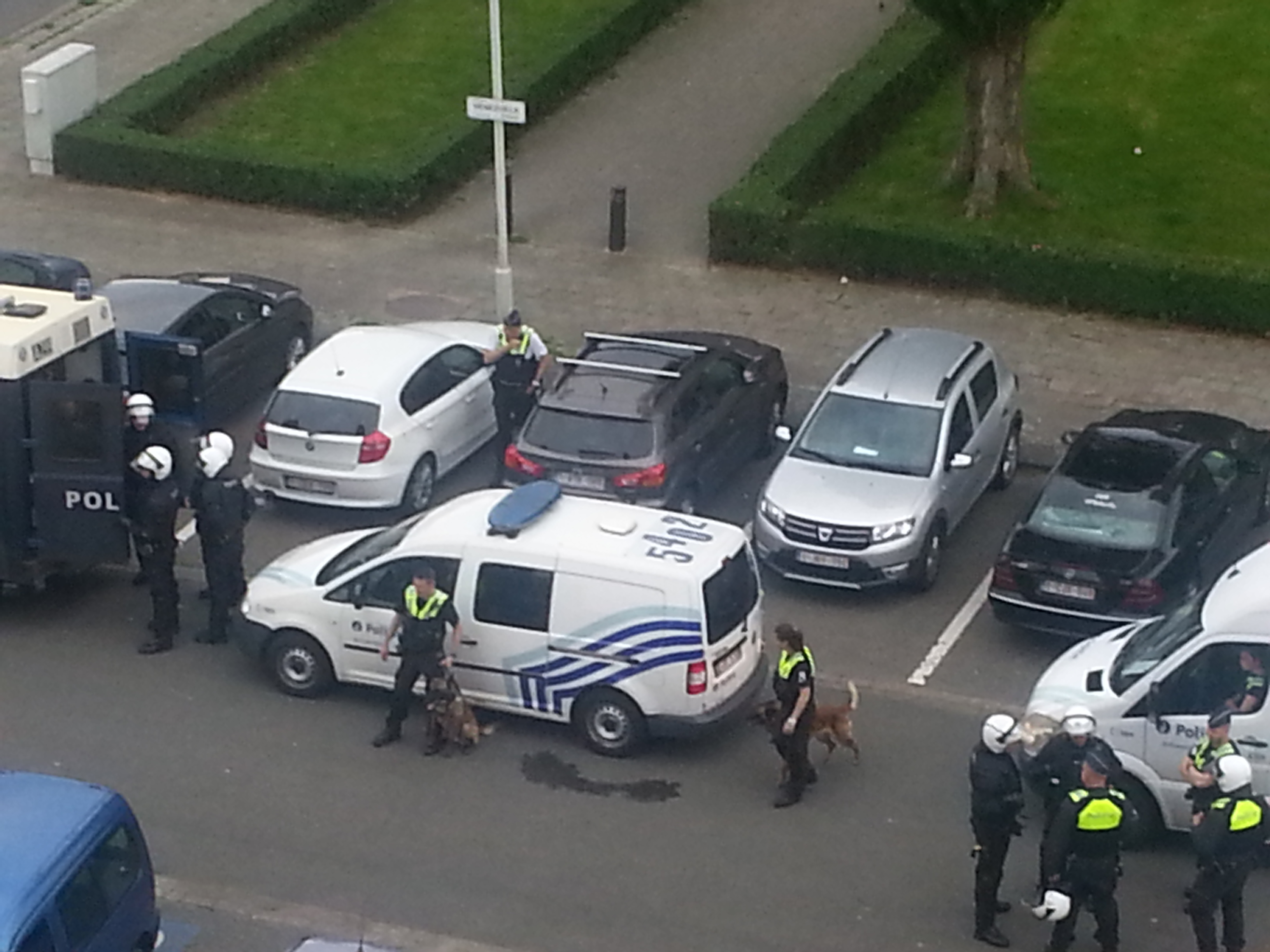 Politiegeweld op Luchtbal in Antwerpen – interview met ooggetuige