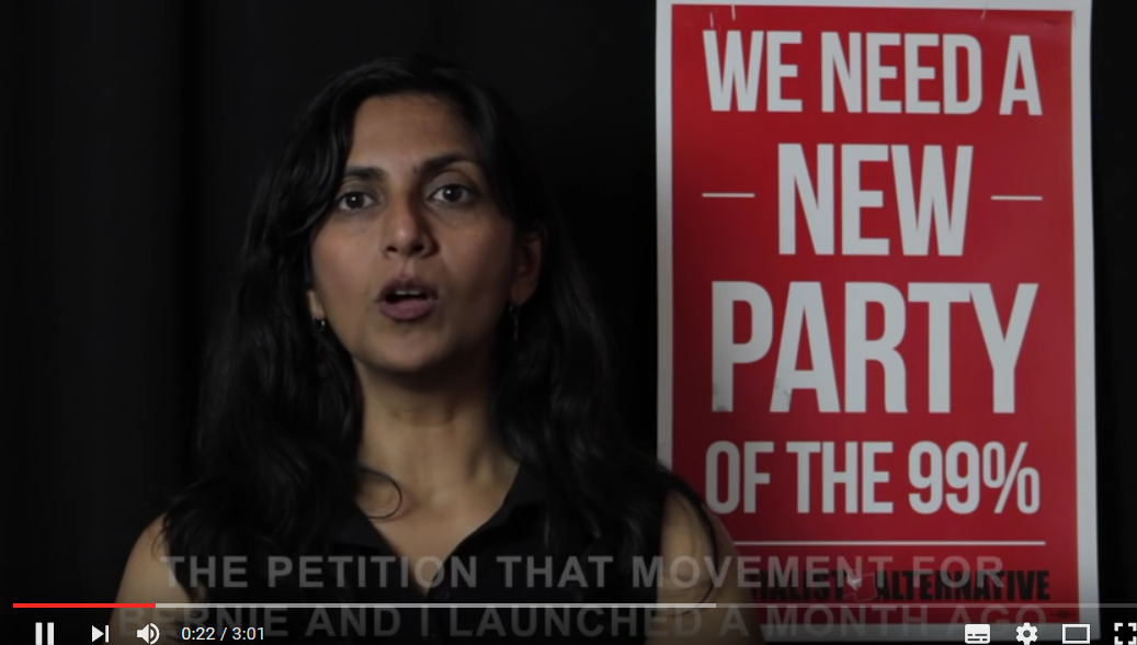 [Video] Kshama Sawant: waarom Bernie onafhankelijk moet opkomen