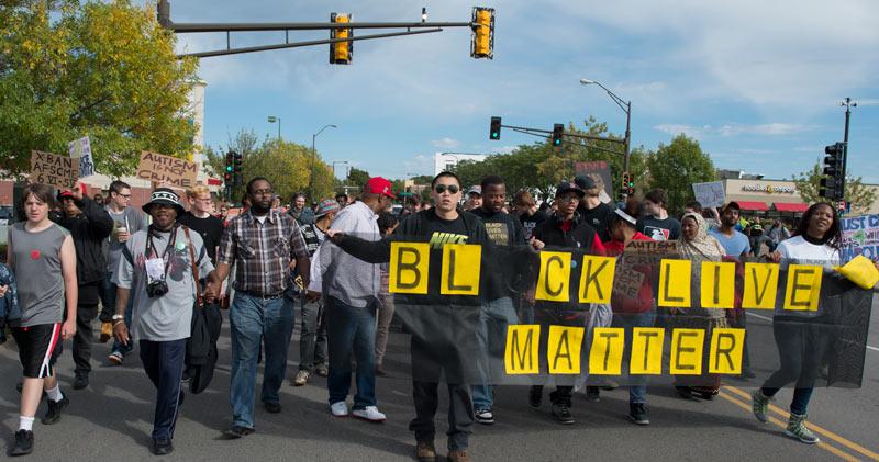 Racistisch politiegeweld in de VS stoppen met massabeweging tegen racisme en armoede