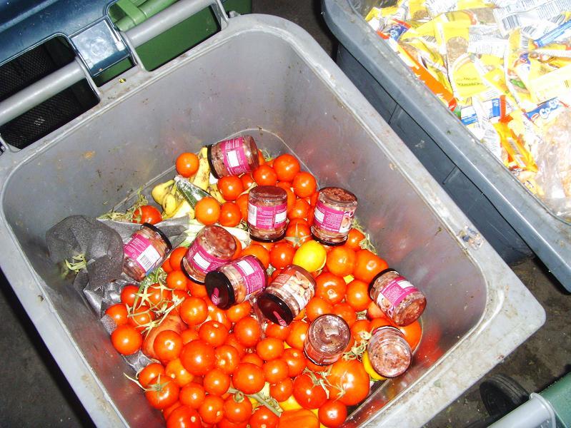 Helft van alle geproduceerde voedsel in de VS wordt weggegooid