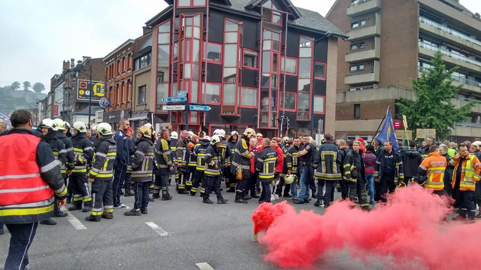 """""""Firefighters for climate."""" Sterke oproep van brandweerlieden om klimaatprotest te vervoegen"""