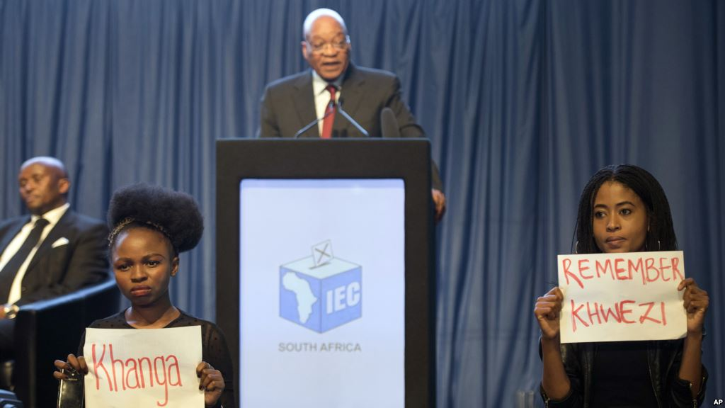 ANC zwaar afgestraft in lokale verkiezingen in Zuid-Afrika