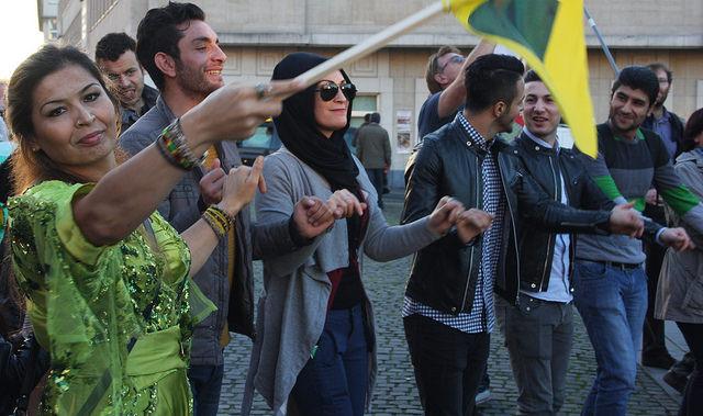 Koerdische culturele week in Brussel verboden…