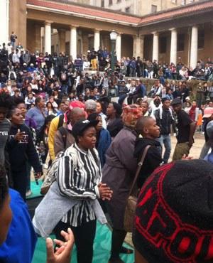 Solidariteit met de strijd van de Zuid-Afrikaanse studenten voor gratis onderwijs