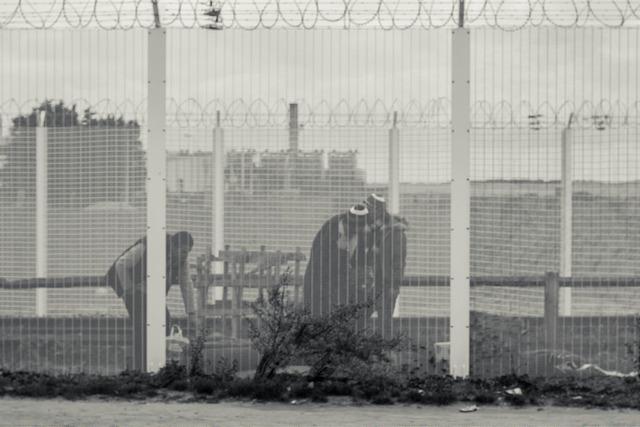 The Jungle in Calais. Foto: Mathias P