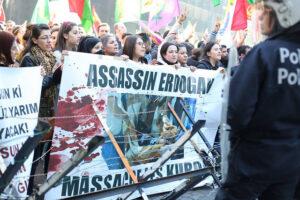 Brussels protest tegen Erdogan in 2015. Foto: socialisme.be