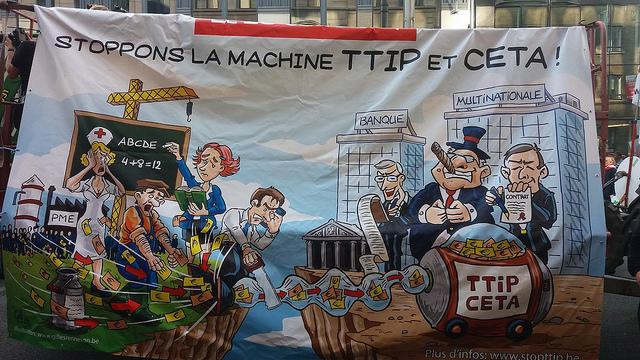 CETA, TTIP, … Wat zijn die vrijhandelsverdragen en waarom verzet noodzakelijk is