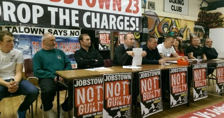 Naar het grootste politieke proces in Ierland sinds decennia. Verdedig de activisten van Jobstown!
