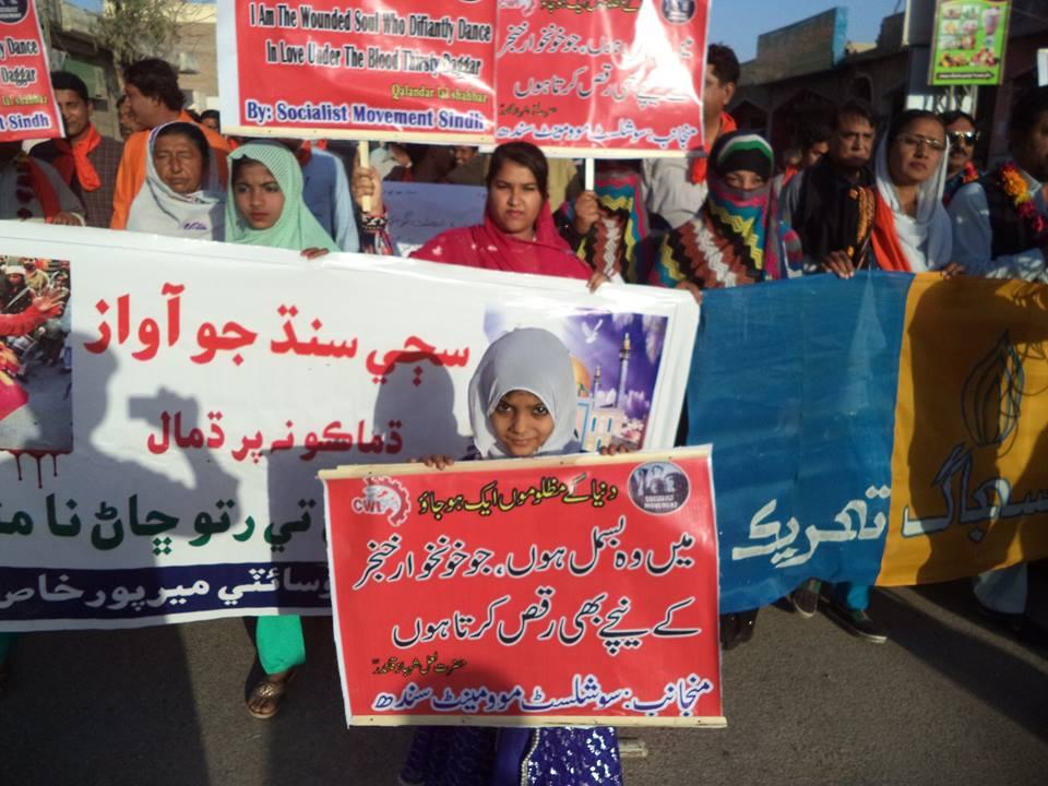 Socialisten in actie tegen religieus geweld in Pakistan
