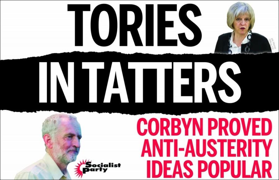 Na de Britse verkiezingen: May en de Tories moeten weg!