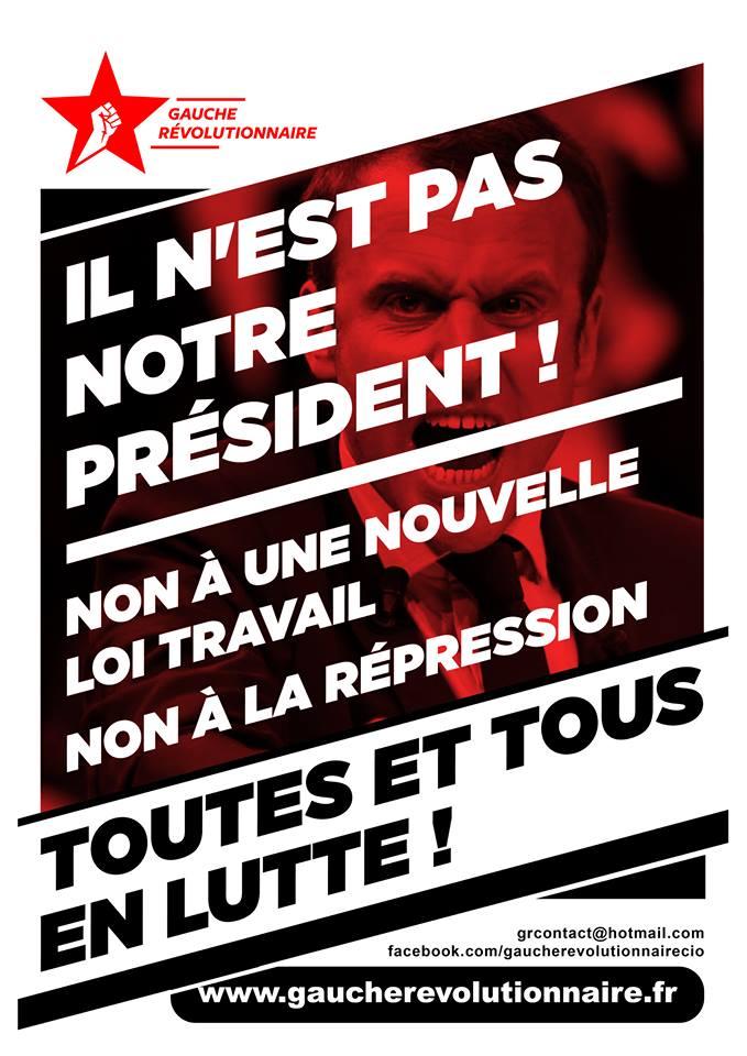 Frankrijk: het verzet overal organiseren!