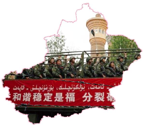"""Toenemende repressie in Xingjiang om """"One Belt One Road""""-project erdoor te krijgen"""