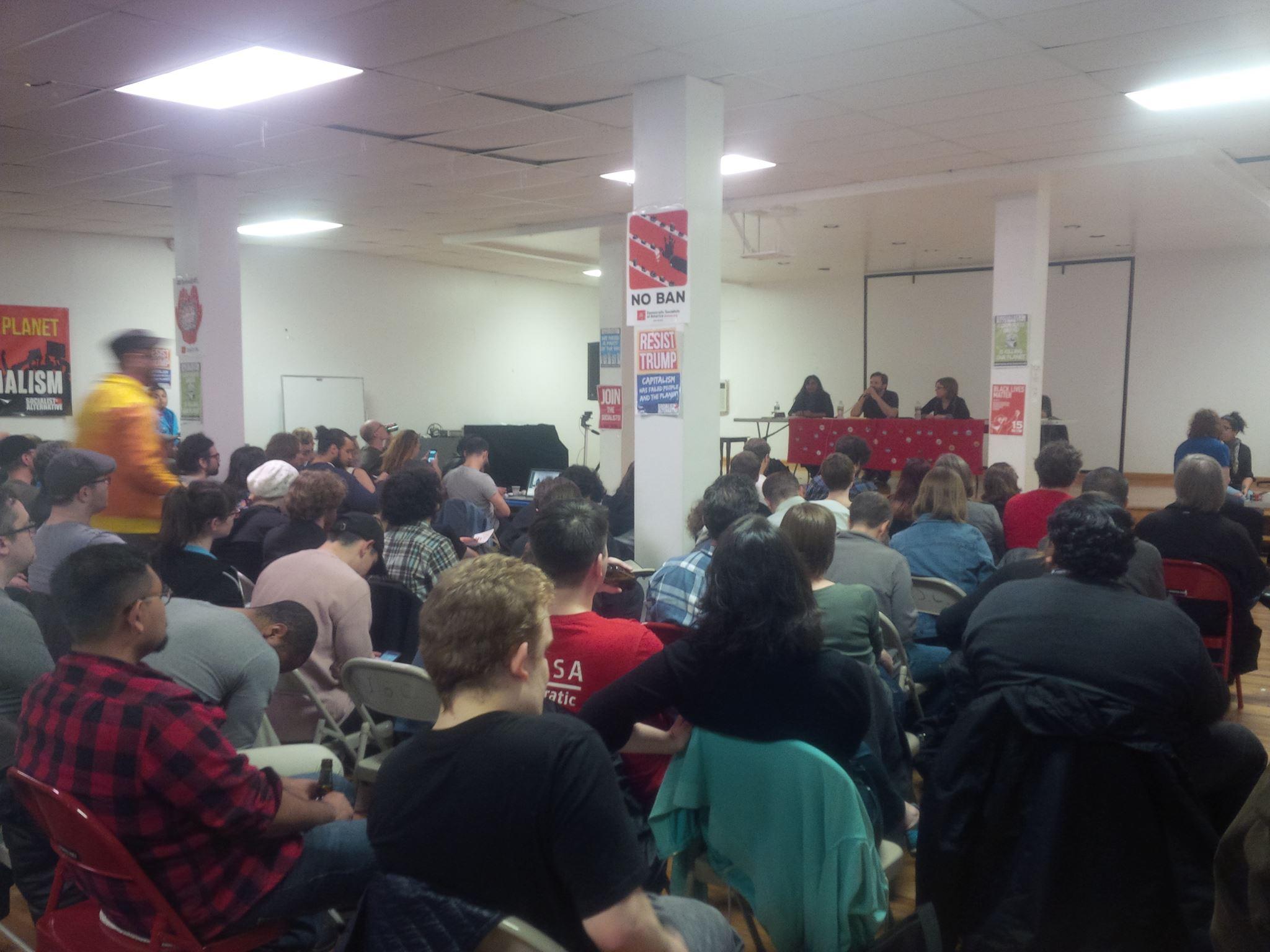 Debat tussen Kshama Sawant (Socialist Alternative) en Bhaskar Sunkara (Democratic Socialists of America)