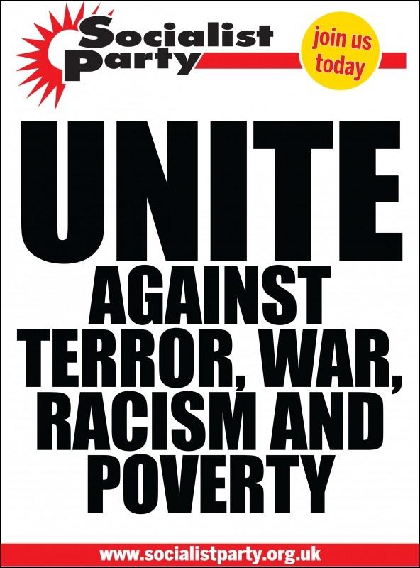 Aanslagen in Londen. Samen tegen terreur, oorlog en racisme