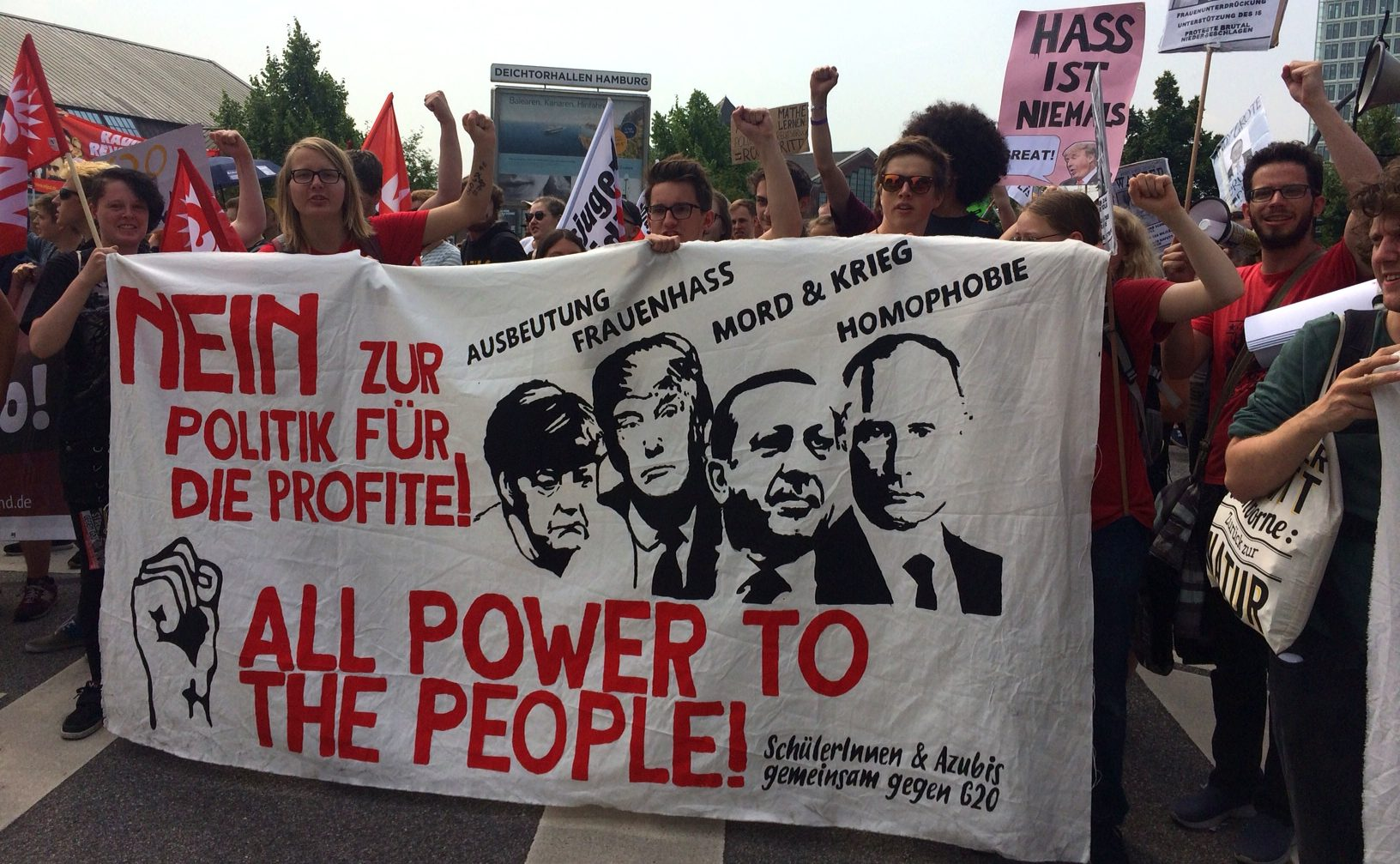 G20: de top van de repressie