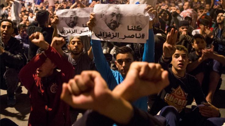 Volksopstand in Marokko, het regime wankelt