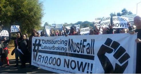 Zuid-Afrika: de arbeidersbeweging terug opbouwen