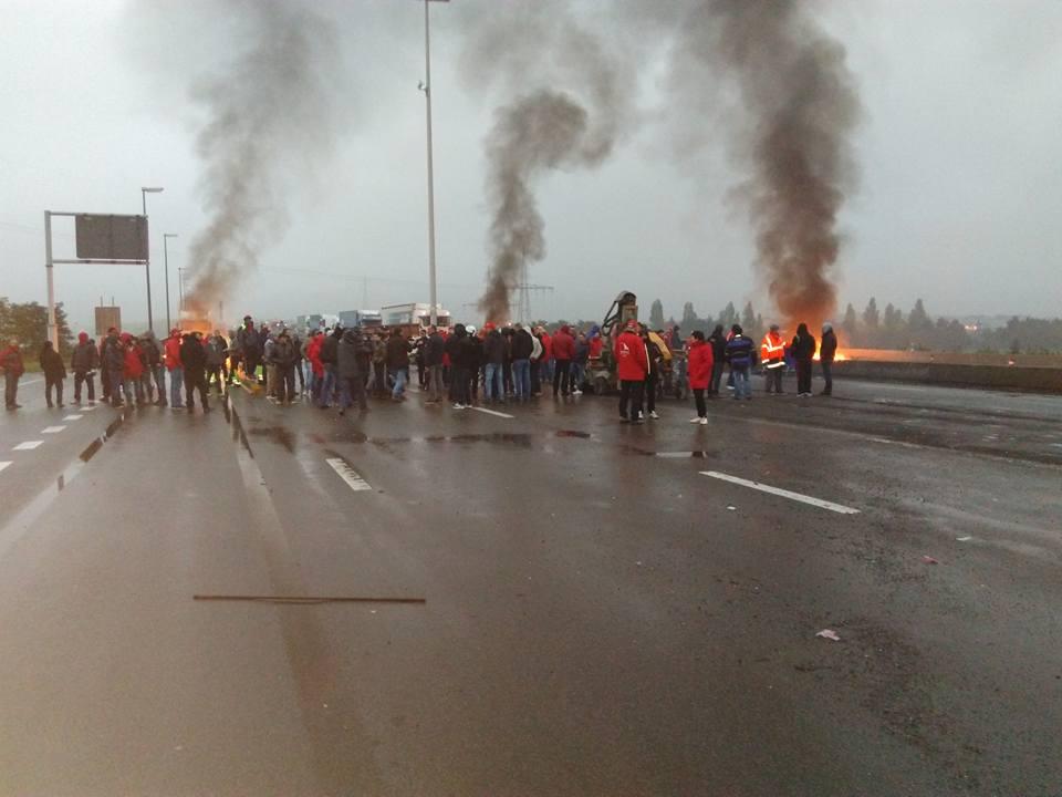 Gevaarlijk precedent: 17 Luikse ABVV'ers voor rechter wegens collectieve actie