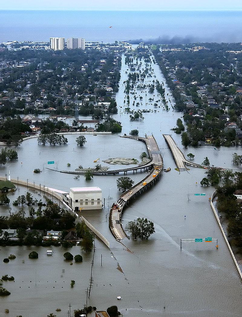 Uit de archieven. Orkaan Katrina