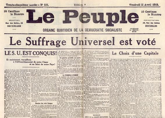 [1917] Impact Russische Revolutie op Belgische arbeidersbeweging