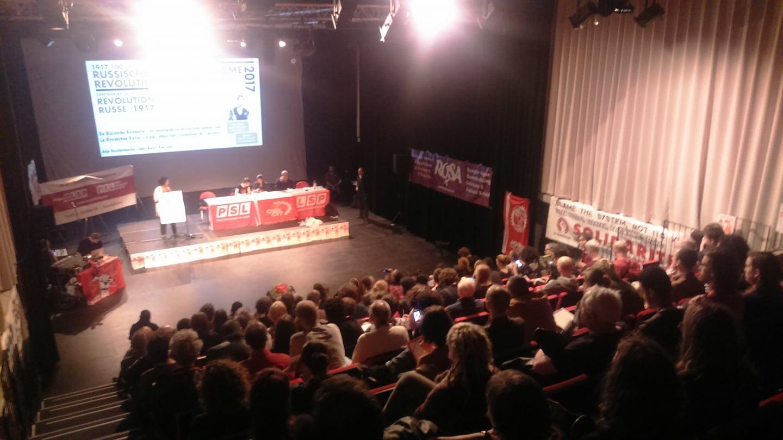 Enthousiast weekend van socialistische discussie en debat