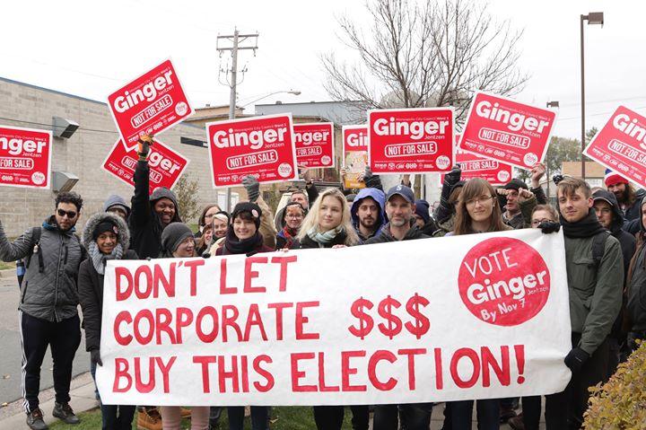 Socialistische kandidaat haalt 34% in Minneapolis