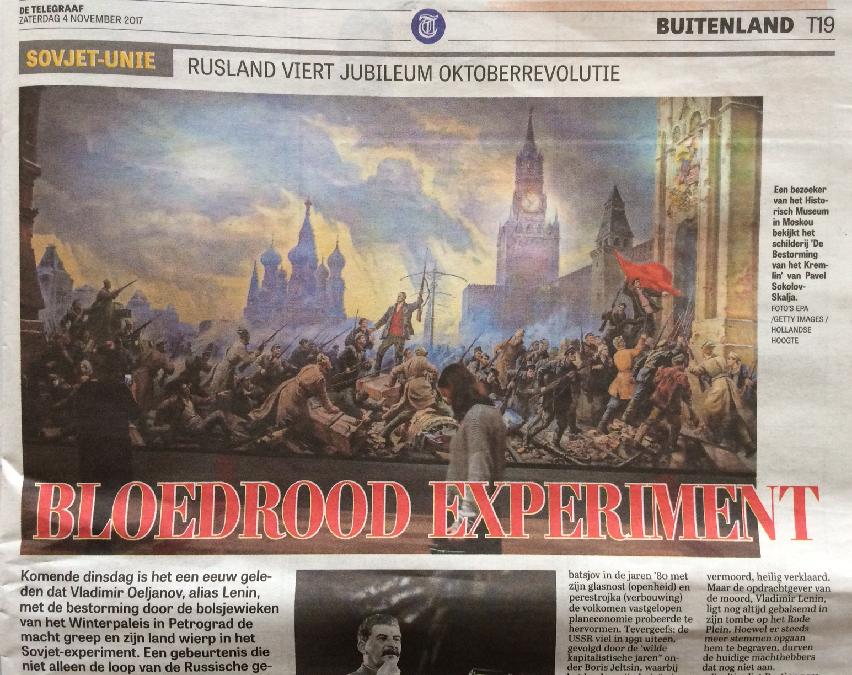 """1917: een """"bloedrood experiment""""?"""