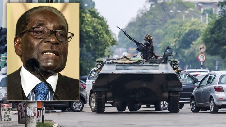 Zimbabwe: Mugabe weg, maar zijn regime blijft aan de macht