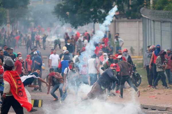 Massale beweging in Honduras tegen verkiezingsfraude en honger
